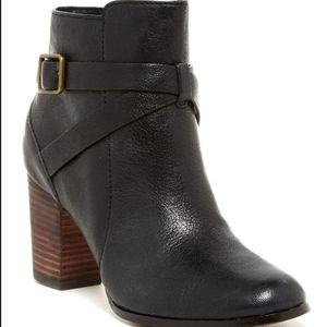 Cole Haan Cassidy Buckle Leather Bootie